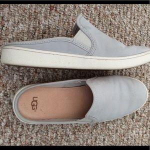 c4a2f69276bf UGG Shoes - Ugg Gene Nubuck Slides 8.5